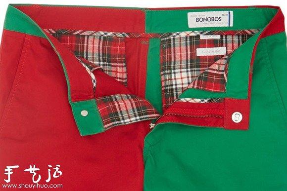 絕對拉風的聖誕節褲子
