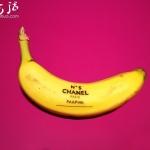 香蕉皮上DIY创作的有趣图案