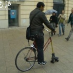 自行车轮胎少了一个怎么办?