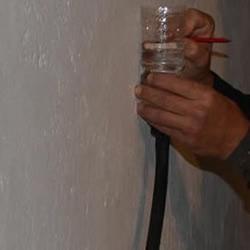 矿泉水瓶自制水平仪