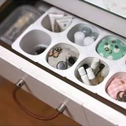 酸奶盒废物利用DIY收纳盒