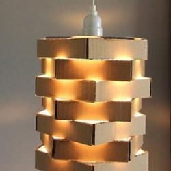 月饼盒废物利用手工DIY漂亮灯罩