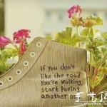 花团锦簇的鞋子