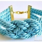 宽幅手链编织教程