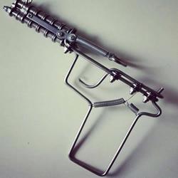 自行车链条DIY的手枪