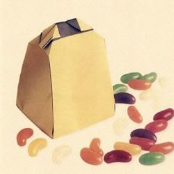 礼品袋包装折纸教程