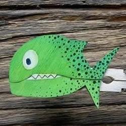 木夹子制作会动的小玩具