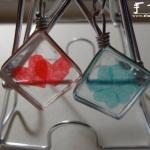 玻璃片DIY小清新吊坠/挂件的教程