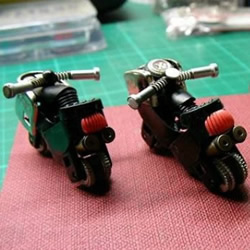 一次性打火机DIY摩托车模型