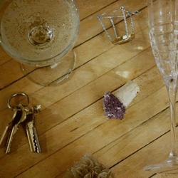 DIY红酒紫水晶效果瓶塞的教程
