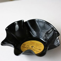 黑胶唱片手工DIY时尚果盘的教程