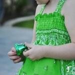 披肩DIY改造儿童吊带裙