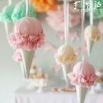 DIY创意布艺冰淇凌饰品