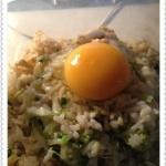 剩饭巧DIY:鸡蛋芝麻蒸饭的做法