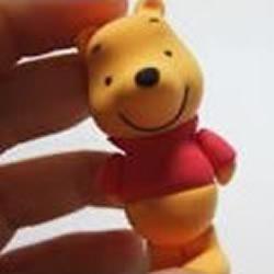 陶粘手工制作维尼小熊的教程