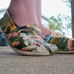 实用的旧布鞋改造教程