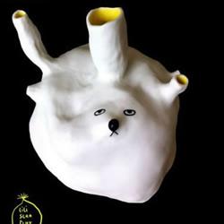 手工制作的一组陶瓷小玩意儿