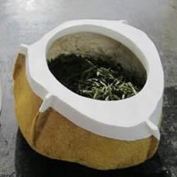 柚子皮废物利用DIY茶叶罐的方法
