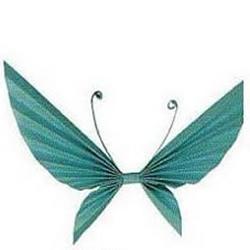 手工组合折纸蝴蝶的制作方法
