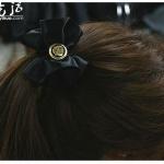 绸缎制作漂亮头花发卡的手工教程