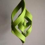 不织布制作风铃挂饰的教程