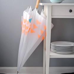 手工DIY漂亮花雨伞的方法