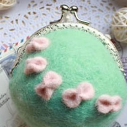羊毛毡口金包制作教程