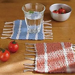 毛线手工编织杯垫的制作教程