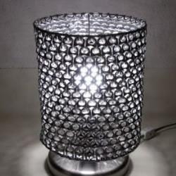 易拉罐拉环手工DIY台灯的教程