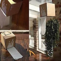 瓦楞纸板改造抽纸盒的教程