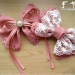 装饰蝴蝶结的手工制作教程