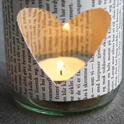 罐头玻璃瓶DIY浪漫蜡烛许愿灯的教程