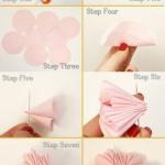 布艺装饰小花的手工DIY教程