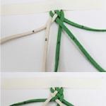 清新绿色手链的编织教程