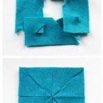 不织布制作简约杯垫的教程
