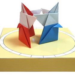相扑小人的折纸方法