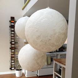 蕾丝月亮的手工制作方法