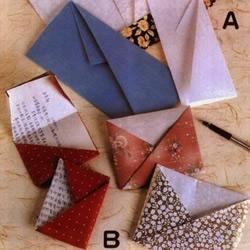 信纸折纸方法教程