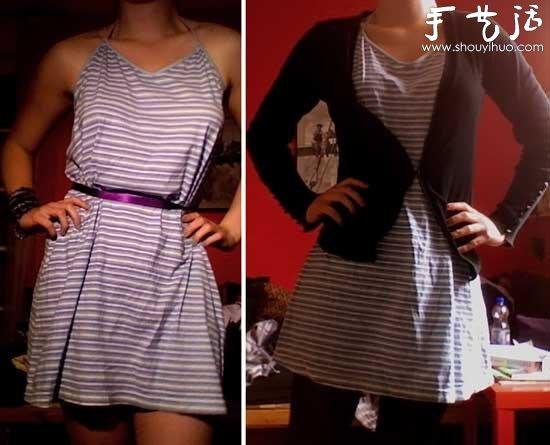 連衣裙的多種穿法 穿出新意改變形象