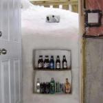 牛逼DIY,打开家门就是冰箱!