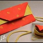 喜庆的各种折纸包装