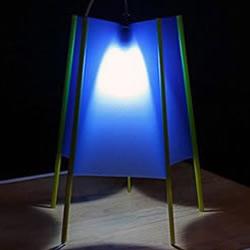 小册子的外壳手工DIY节能灯罩