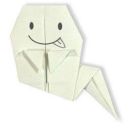 鬼魂折纸手工方法
