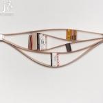 DIY创意十足的木条书架