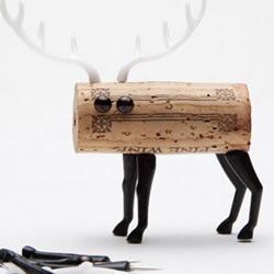 废弃红酒瓶盖手工DIY创意小动物