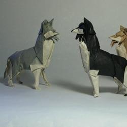 逼真的动物手工折纸作品欣赏