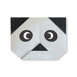 大熊猫手工折纸教程