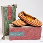 非洲风情AFRiCAN休闲鞋包装盒设计