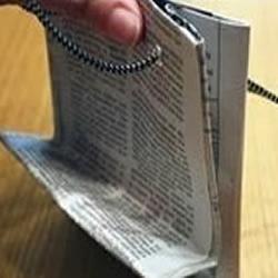 报纸DIY环保包装盒的方法