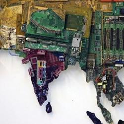 电脑元件DIY的世界地图